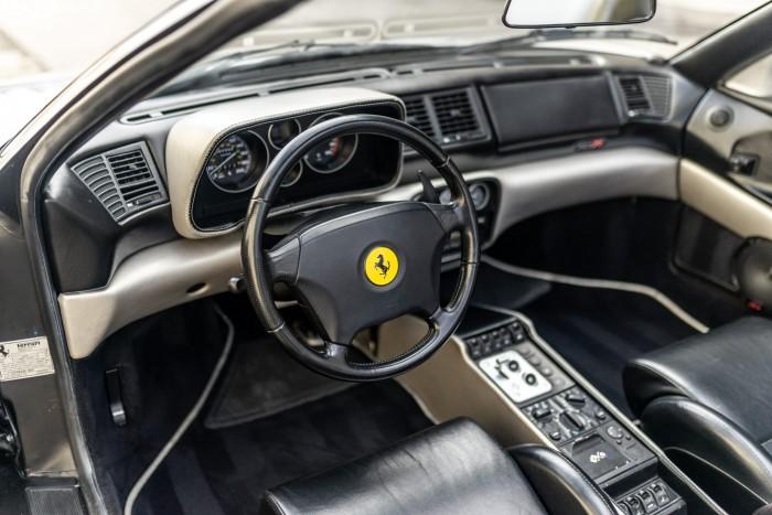 Ferrari was rebuilt to fit the 4-star basket