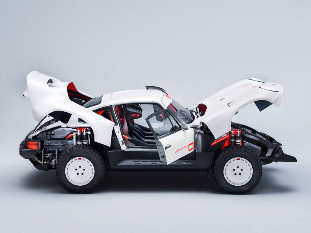 Total Car - Magazine - Hugely Desirable Terrain Porsche was built by Singer