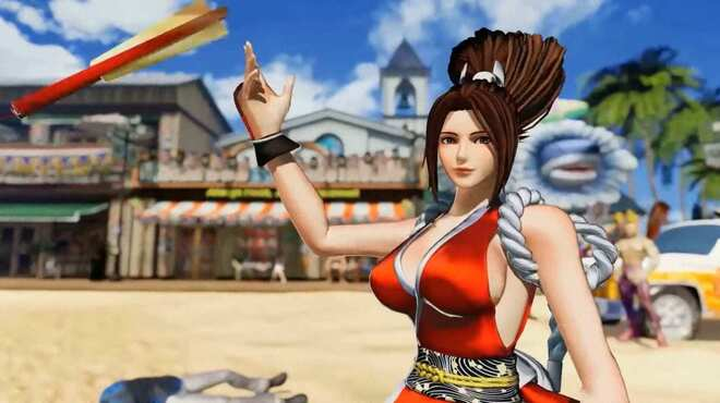 For the first time in the action, The King of Fighters XV