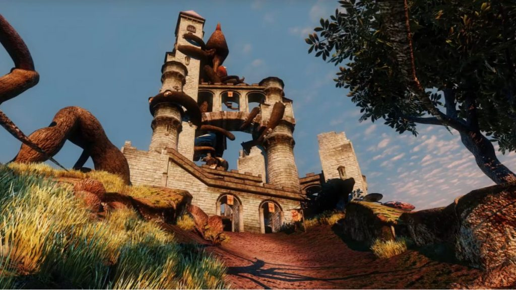 Morrowind turbocharged with more than 300 mods