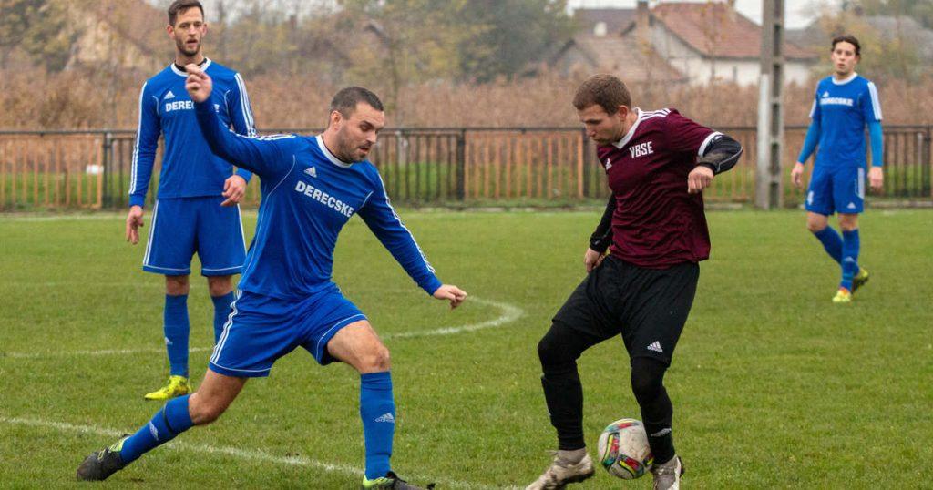 Derecske football is undergoing a big change in winter