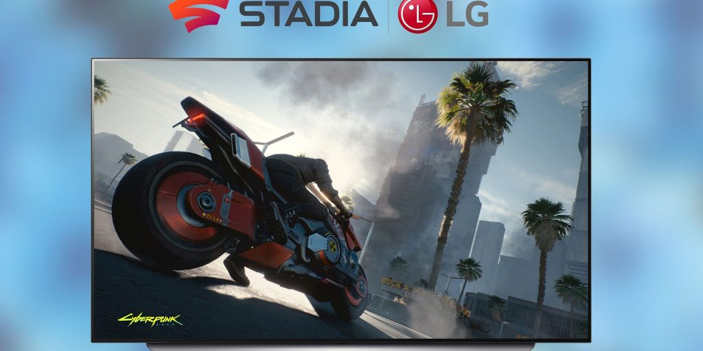 Google Stadia is coming to LG TVs
