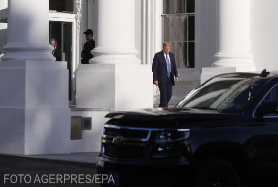 Half of the White House is in quarantine after the US President was injured
