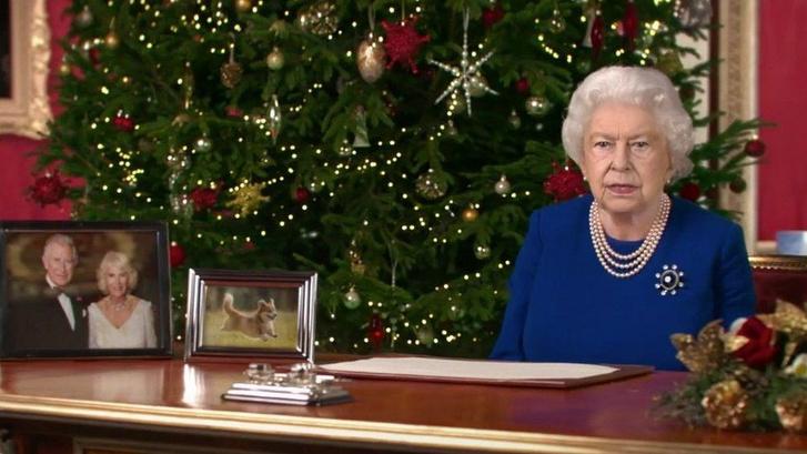 II. Erzsébet brit királynő Deepfake verziója mondta el a Channel 4 karácsonyi üdvözletét.Fotó: YouTube