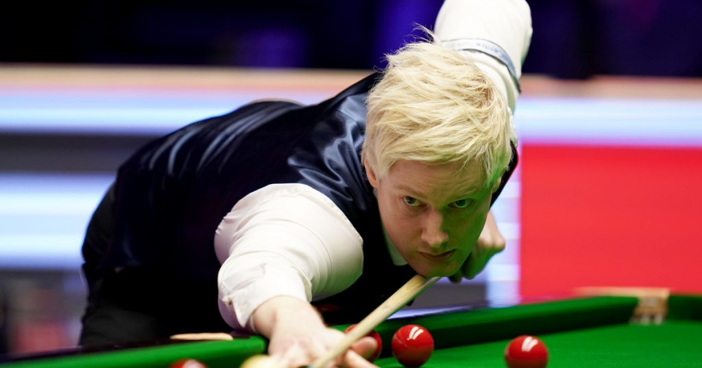 Index - Sports - Incredible excitement in the finals of one of the most prestigious snooker tournaments