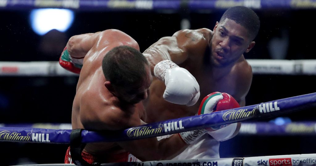 Index - Sports - Joshua is not pardoned, and Pulev lost at Wembley
