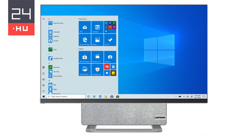 Lenovo's new all-in-one desktop knows a trick