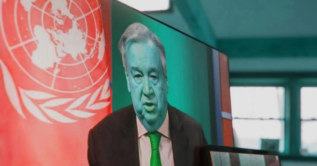 Portuguese Communist Guterres, who wants to create a world state, will lead the United Nations for another five years