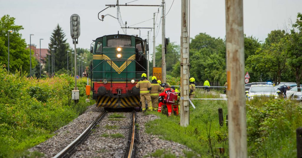 Shocking: An 11-year-old boy was cut by a train, and his friends left him to die