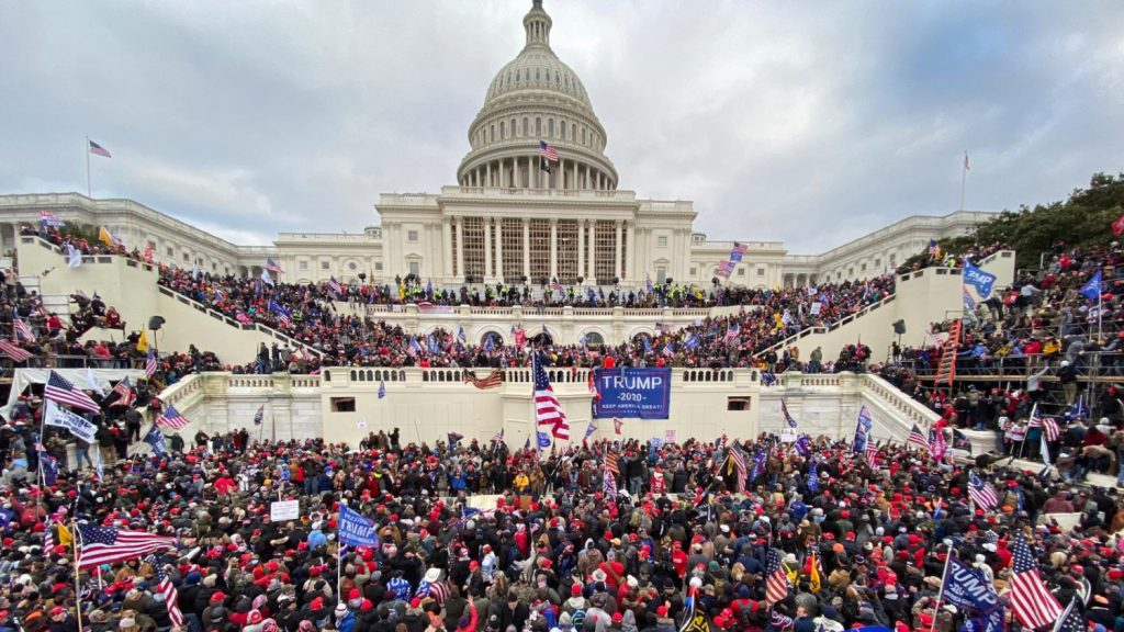 Trump supporters storm the Capitol