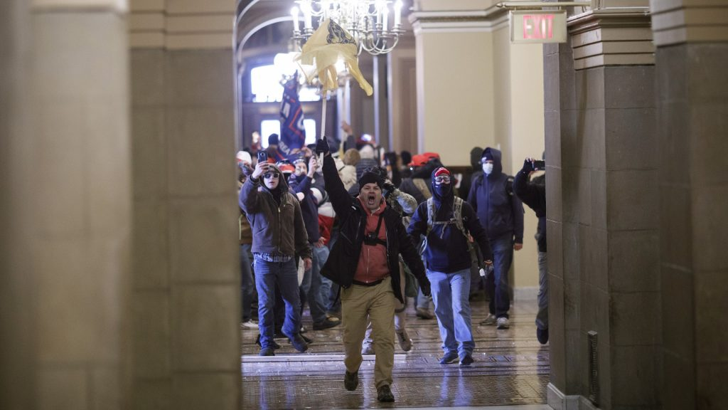 Trump supporters stormed the Capitol - rifles were found and more seriously wounded