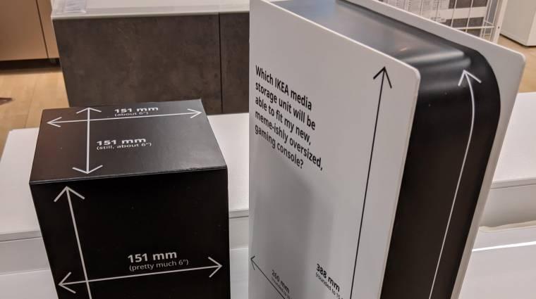 Az IKEA kartonkonzolokkal segít, hogy biztosan elférjen nálad az Xbox Series X vagy a PS5 bevezetőkép