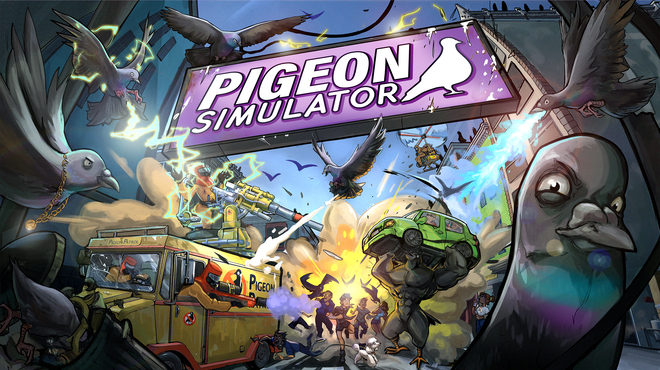 As a pigeon, you can simply ... do everything in Pigeon Simulator