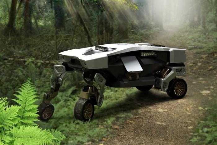 Mindenen átgázol a Hyundai teherhordó robotja