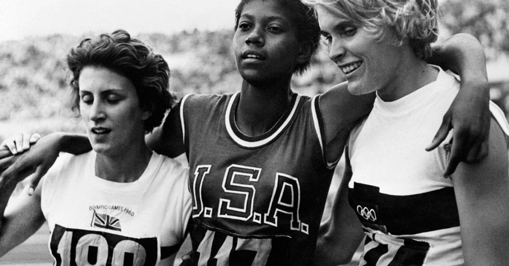 The champion of the Romanian Olympic Games, Wilma Rudolph, was born eighty years ago