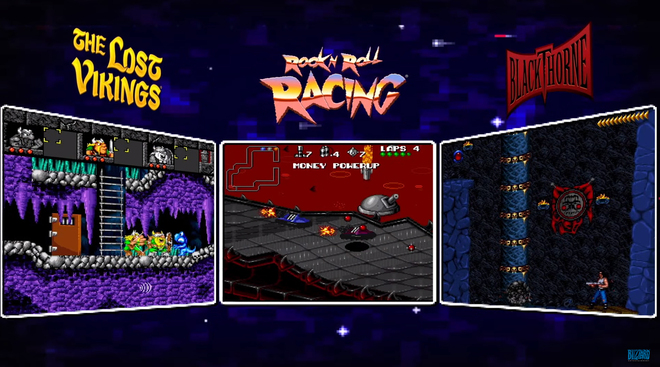 The Blizzard Arcade collection offers three classics from the 1990s
