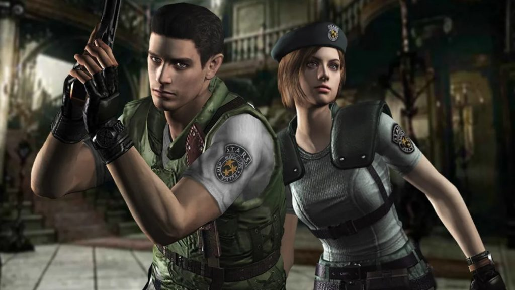 The unofficial version of the first part of Resident Evil looks pretty good
