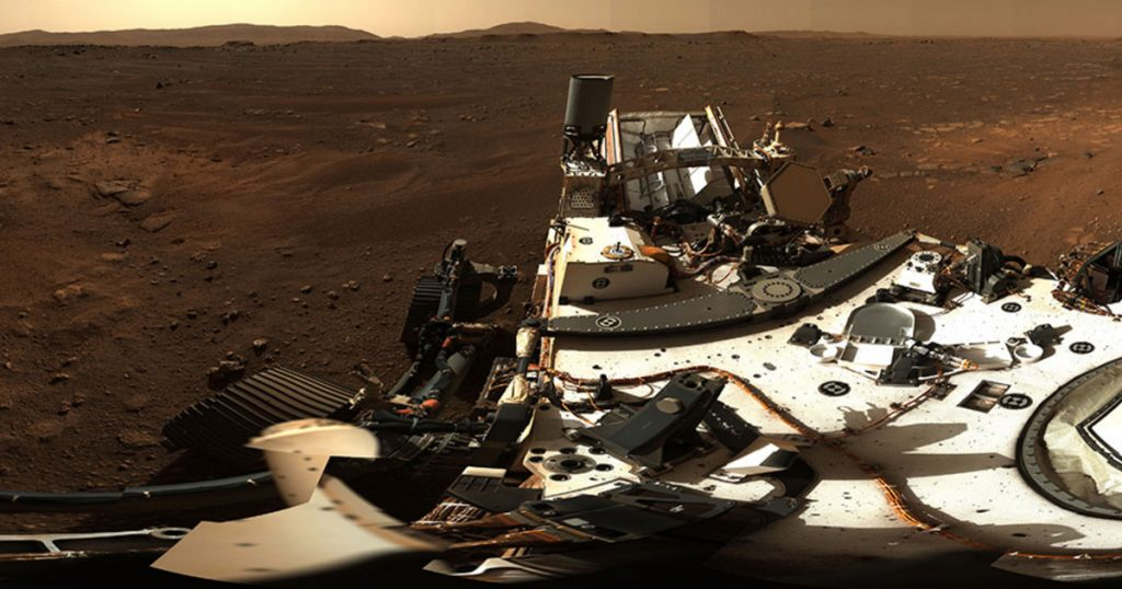 Index - Technical Sciences - Panoramic images transmitted by Martian Perseverance