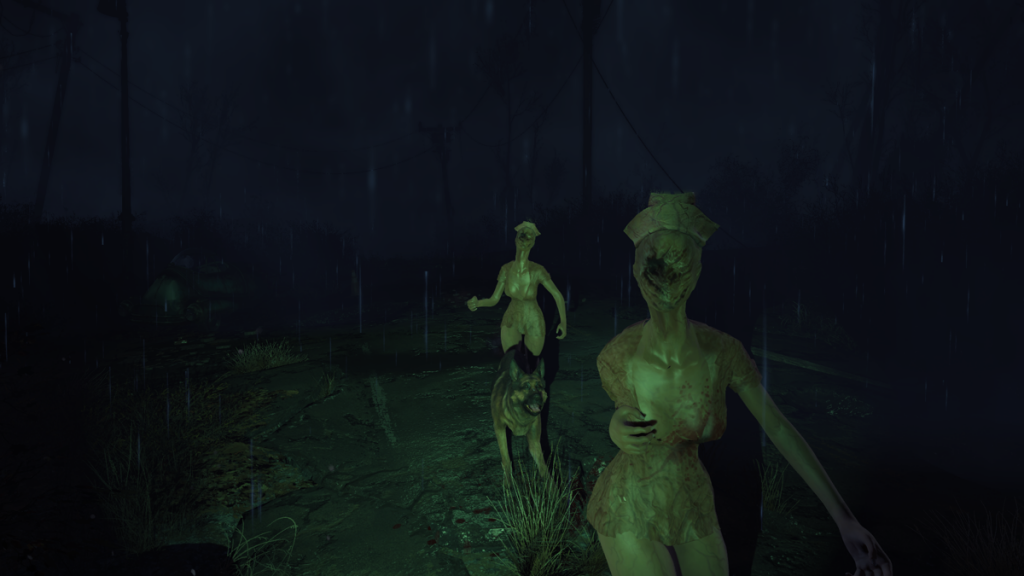 The Resurrected Model has arrived at Silent Hill in Fallout 4