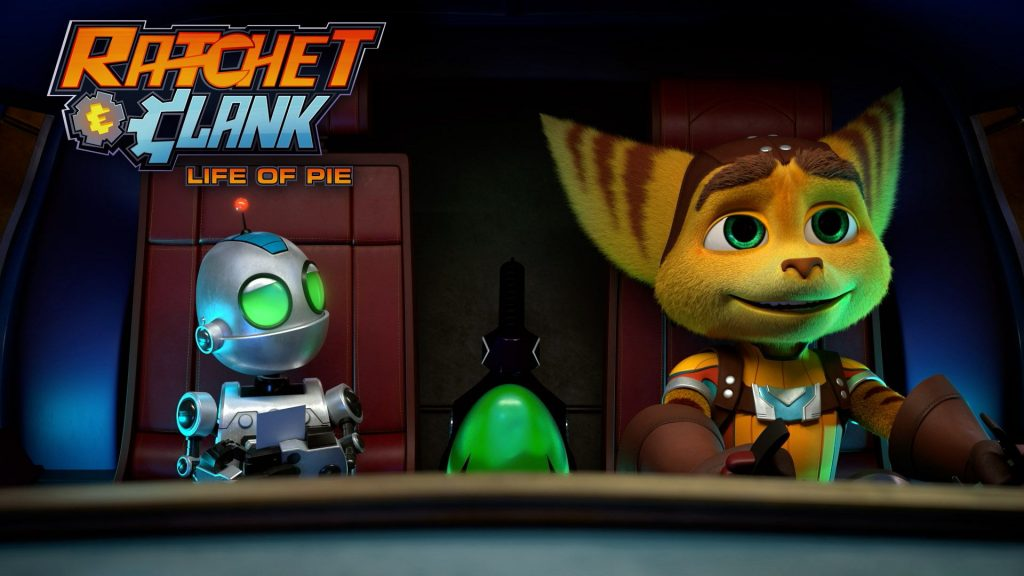 A short animated movie titled Ratchet & Clank: The Life of Pie is made for Newsblock