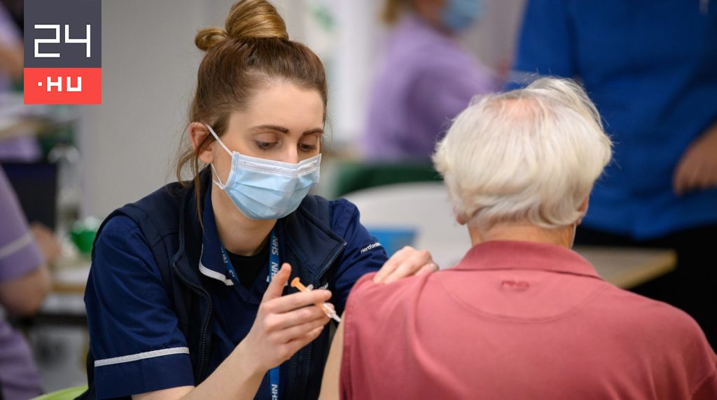 During the weekend, nearly a million people were vaccinated in the UK