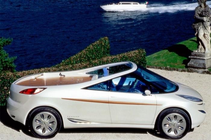 A kilencvenes évek francia mindenese: kabrió, buszlimuzin, luxusjacht és pickup egyben