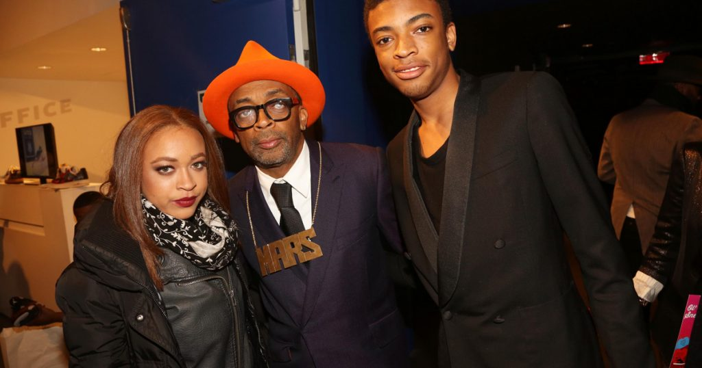 Index - Culture - The children of Spike Lee became ambassadors for the Golden Globe Gala this year