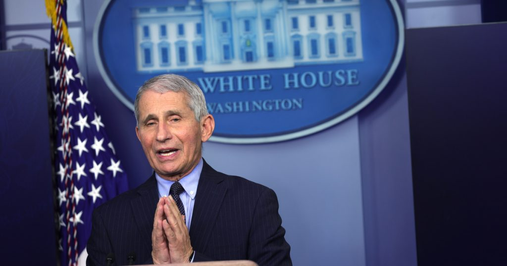 Index - Overseas - Anthony Fauci: We may have to wear a mask even in 2022