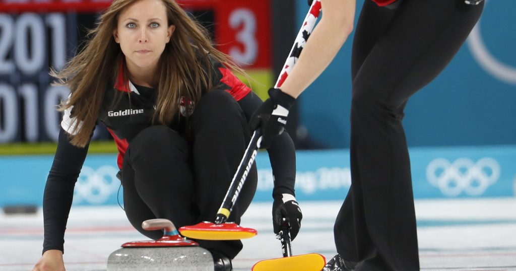 Index - Sports - Scandal in the curling match between Canada and Denmark