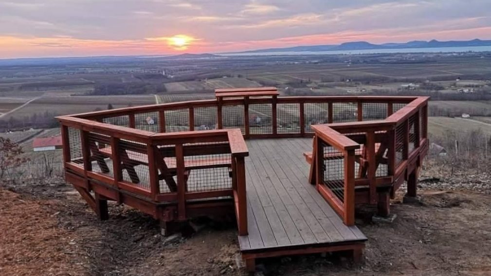 The newest lookout tower on Lake Balaton offers a wonderful panoramic view