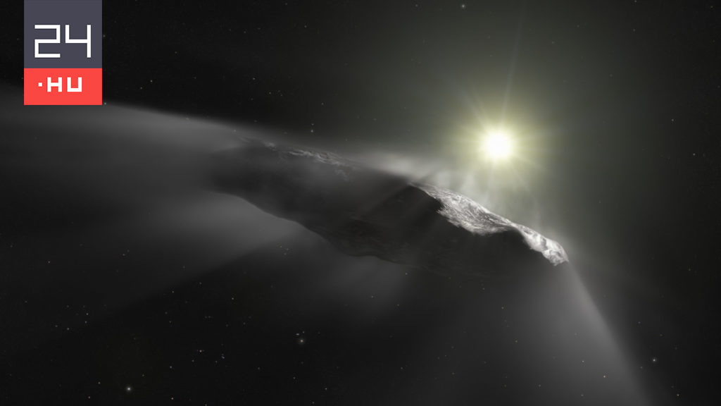 Perhaps they solved the mystery of the strange interstellar visitor, Oumuamua