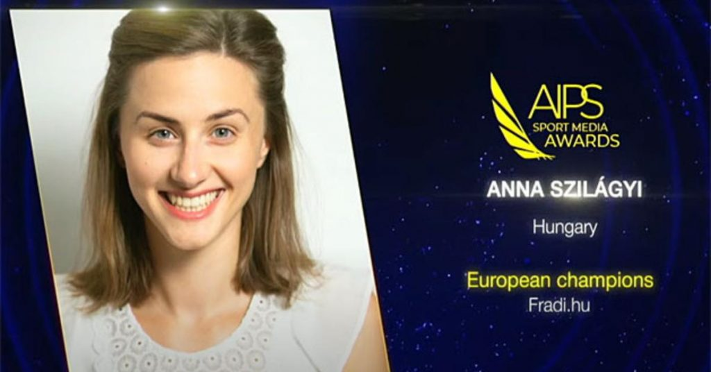 AIPS: Anna Szilágyi won the Main Prize for Young Photographers