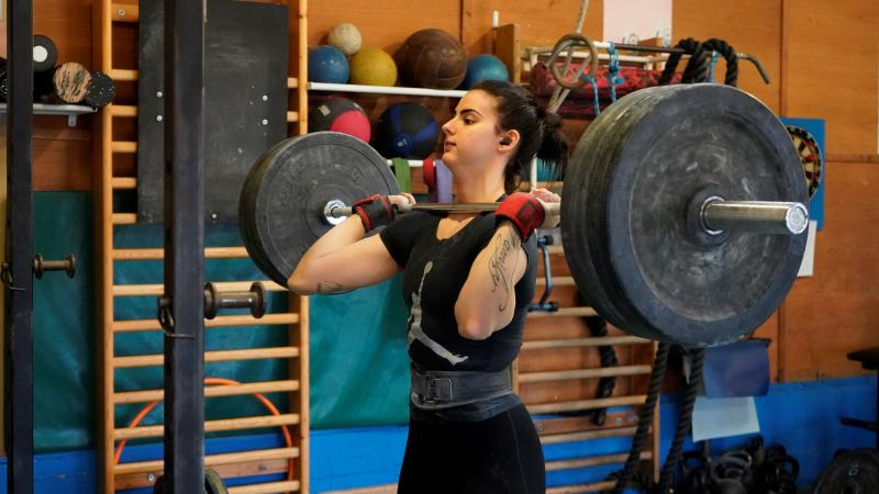 Veronica Mitico prepares for the Olympic qualifiers