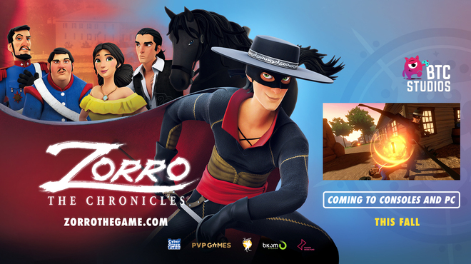 The video game Zorro The Chronicles may be coming towards the end of the year