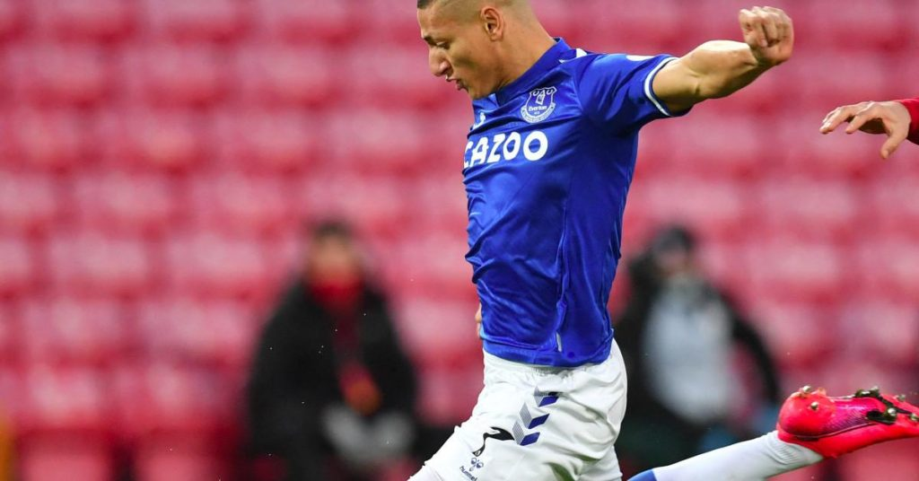 Richarlison fears that Everton may hold the cast