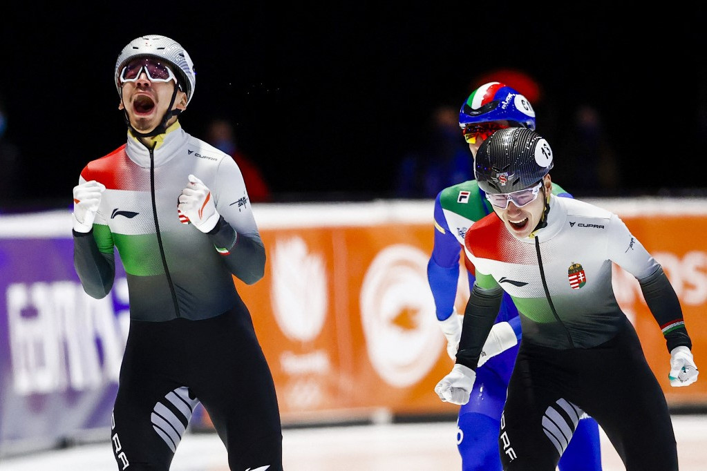 Best Hungarian performance ever in the Short Track World Speed Skaters Championships