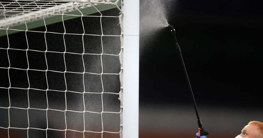 Football has been excluded from the British government's three hundred million bailout package