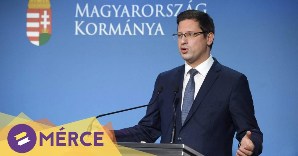 Gergely Gulyás promised an opening after Easter if the number of vaccines reaches 2.5 million MERS