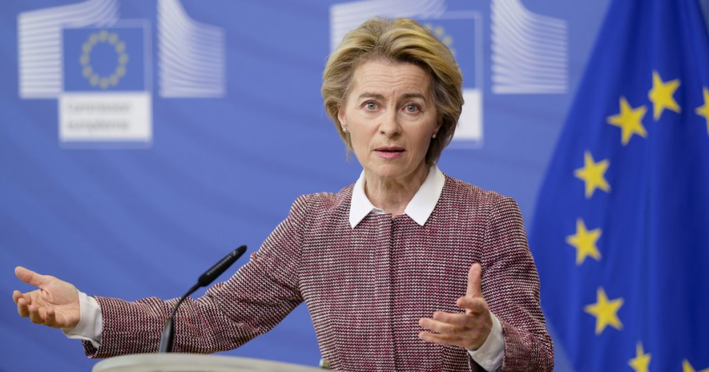 Index - Abroad - The president of the European Commission threatened AstraZeneca