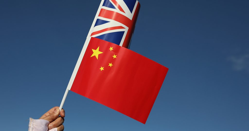 Indication - abroad - Beijing has also responded to sanctions against the British