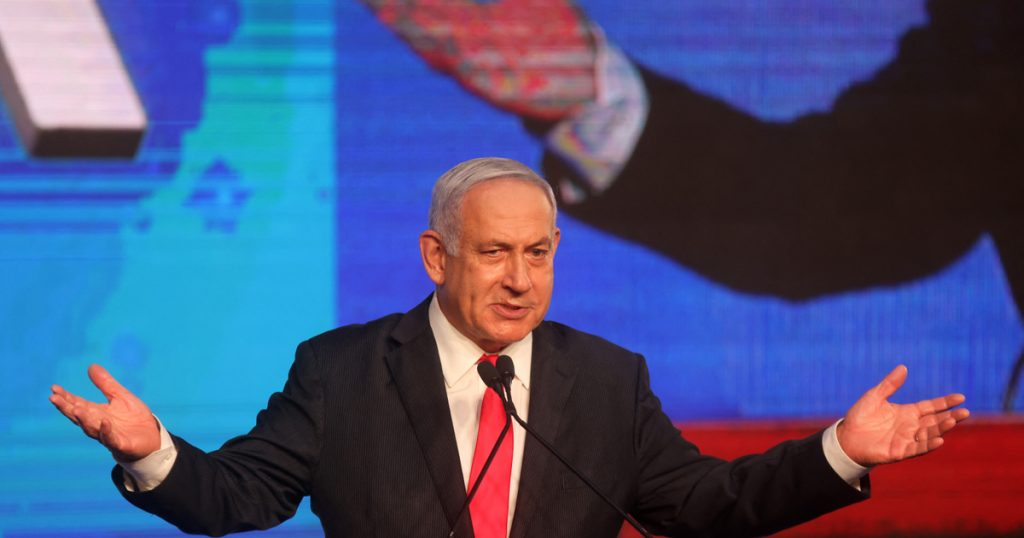 Indicator - external - Bukhat Netanyahu wins the premiership and parties are calling for his departure