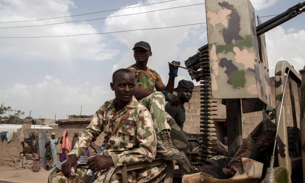 Jihadists shoot at a UN helicopter in Nigeria