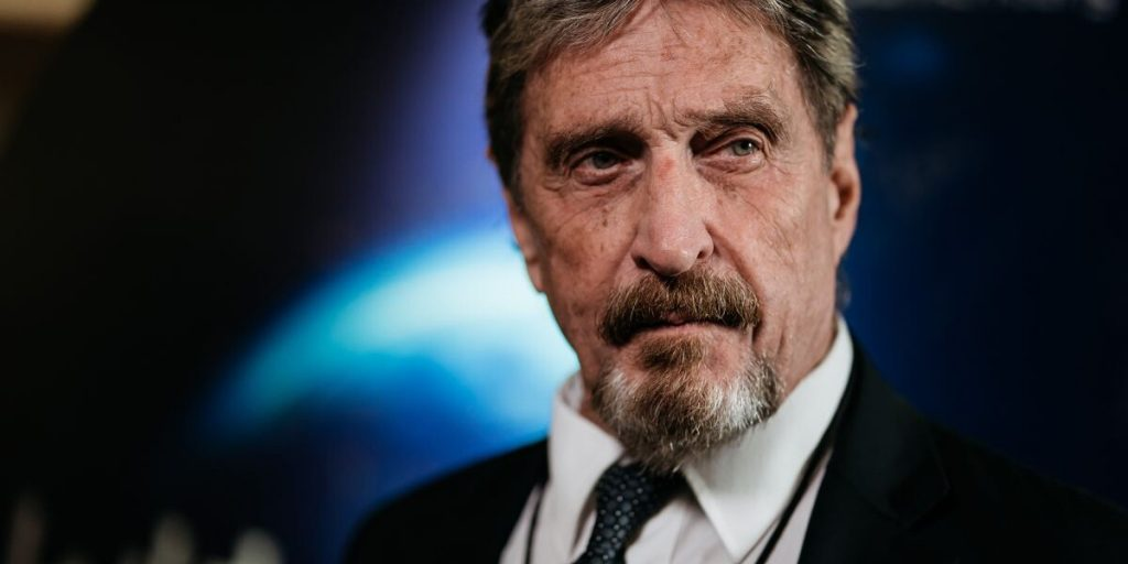 John McAfee has been sued for cryptocurrency fraud