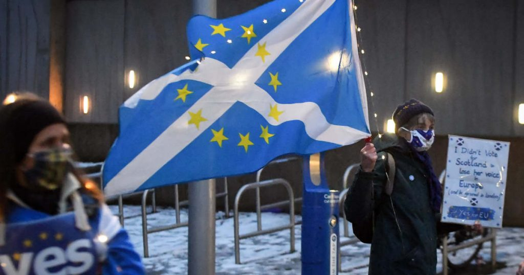 Scotland has indicated once again its intention to leave the United Kingdom
