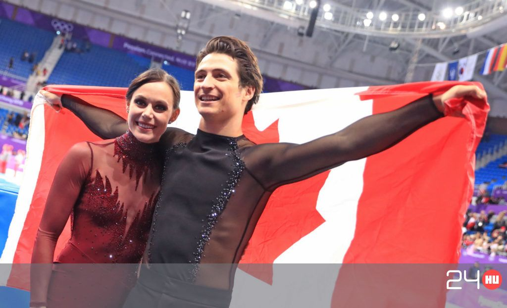 The Canadian Ice Dancing couple capped his return with his third Olympic gold