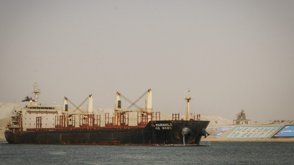 The crisis of container ships in the Suez Canal - was much worse