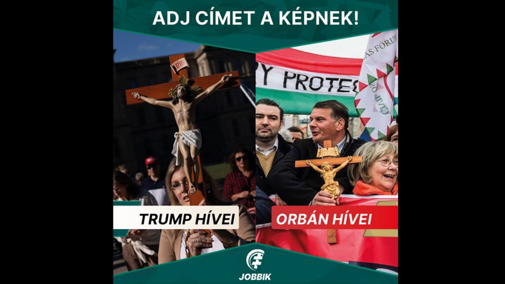 Train: Jobbik cannot upload a picture like this!