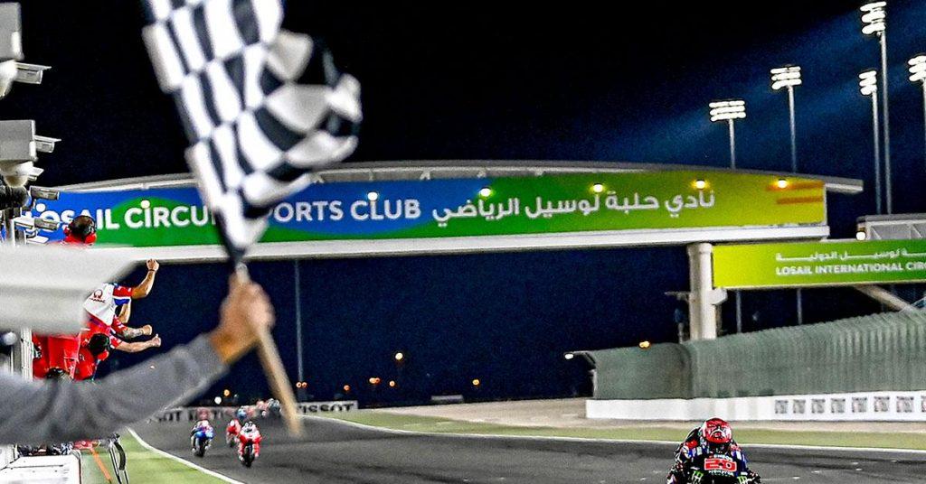 MotoGP: Quarteraro won the Doha Grand Prix