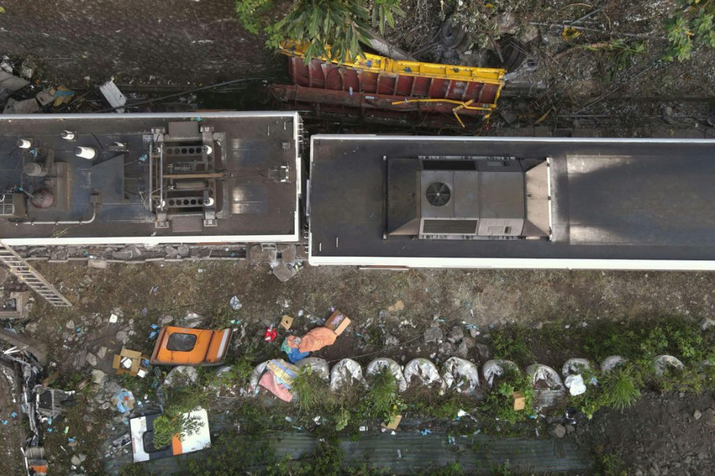 The truck driver that caused the train accident in Taiwan is concerned about what happened
