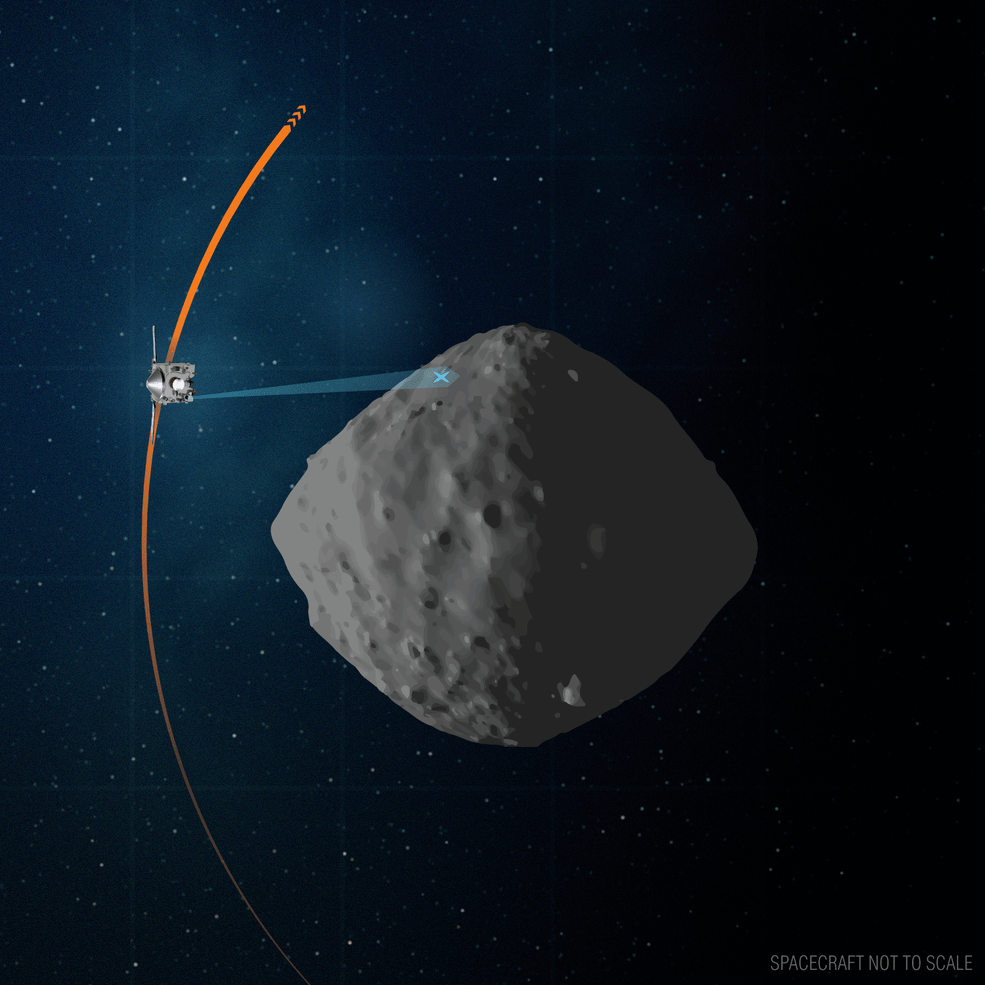 Records of NASA's Osiris Rex spacecraft may explain how life evolved on Earth